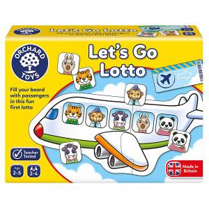 "Orchard Toys ""Λόττο - Φύγαμε!"" (Lets go Lotto) Ηλικίες 2-5 ετών ORCH094"