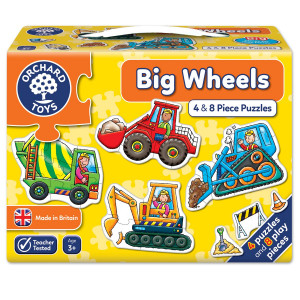 Orchard Toys Big Wheels Jigsaw Puzzle ORCH201