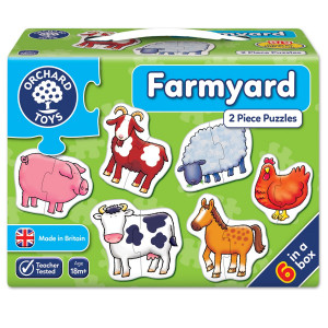 Orchard Toys Farmyard Jigsaw Puzzle ORCH202
