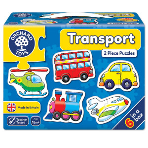 Orchard Toys Transport Jigsaw Puzzle ORCH203