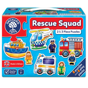 Orchard Toys Rescue Squad Jigsaw Puzzle ORCH204