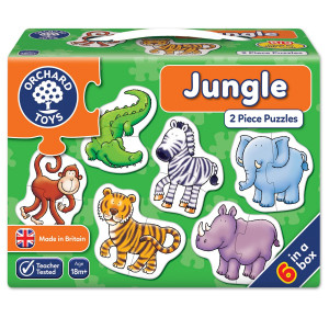 Orchard Toys Jungle Jigsaw Puzzle ORCH205
