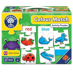 Orchard Toys Colour Match Jigsaw Puzzle ORCH223