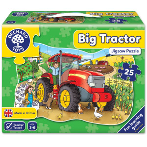Orchard Toys Big Tractor Jigsaw Puzzle ORCH224