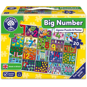 Orchard Toys Big Number Jigsaw Puzzle ORCH237