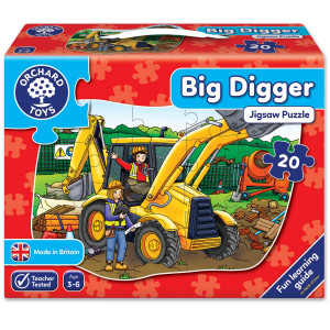 Orchard Toys Big Digger Jigsaw Puzzle ORCH243