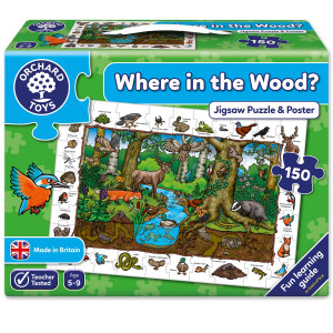 Orchard Toys Where in the Wood Jigsaw ORCH254