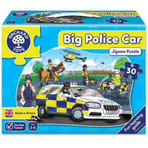 Orchard Toys Big Police Car Jigsaw Puzzle ORCH255