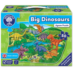 Orchard Toys Big Dinosaurs Jigsaw Puzzle ORCH256