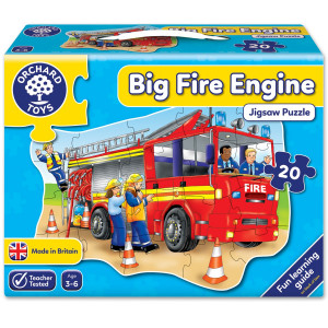 Orchard Toys Big Fire Engine Jigsaw Puzzle ORCH258