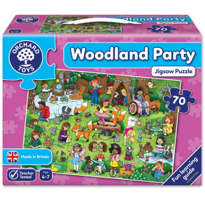 Orchard Toys Woodland Party Jigsaw Puzzle ORCH269
