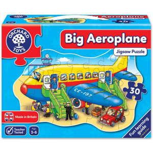 Orchard Toys Big Aeroplane Jigsaw Puzzle ORCH273