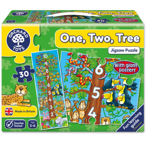 Orchard Toys One, Two, Tree Jigsaw Puzzle ORCH276