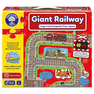 Orchard Toys Giant Railway Jigsaw ORCH289
