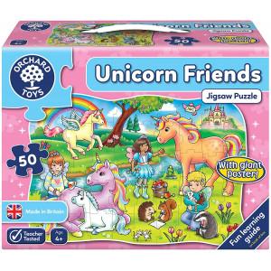 Orchard Toys Οι Φίλοι των Μονόκερων (Unicorn Friend ) Jigsaw Puzzle Ηλικίες 4+ ετών ORCH291