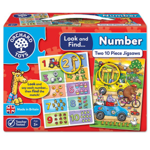 Orchard Toys Look and Find... Number Jigsaw ORCH331