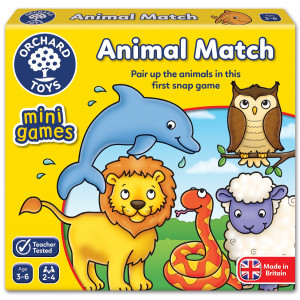 Orchard Toys Animal Match Mini Game ORCH363