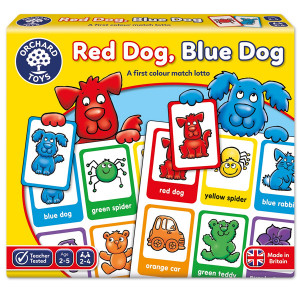 Orchard Toys Red Dog, Blue Dog Game ORCH044