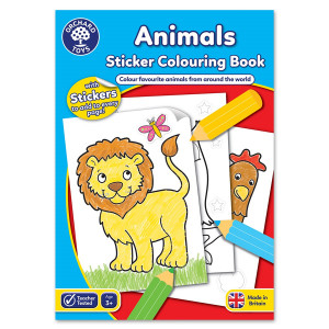 Orchard Toys Animals Colouring Book ORCHCB01