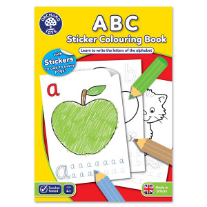 Orchard Toys ABC Colouring Book ORCHCB02