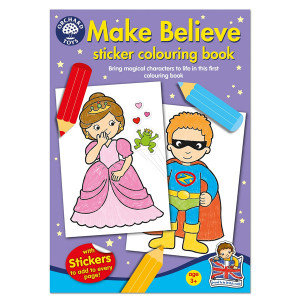 Orchard Toys Make Believe Colouring Book ORCHCB05