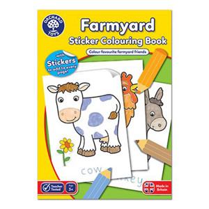 Orchard Toys : Farmyard Colouring Book ORCHCB10