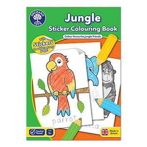 Orchard Toys : Jungle Colouring Book ORCHCB11