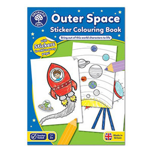 Orchard Toys: Outer Space Colouring Book ORCHCB12
