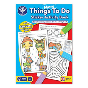 Orchard Toys: More Thing To Do Colouring Book ORCHCB13