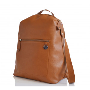 Pacapod: Tσάντα αλλαξιέρα - Hartland Leather tan PL:0030