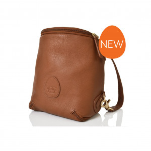 Pacapod: Δερμάτινη τσάντα μικρή Freedom Pod - Leather Tan PL:0124