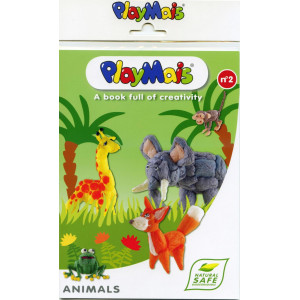 Playmais: Βιβλιαράκι οδηγιών - Ζωάκια PLM-150521.1