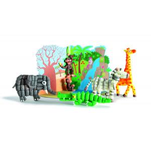 Playmais: World Κάρτες 6τεμ. ζούγκλα PLM-160021