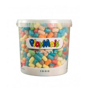 Playmais: Basic Κάδος 1000τεμ. για αυτοσχεδιασμό PLM-160027