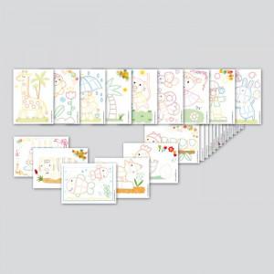 Playmais: Κάρτες με σχέδια 2D 24τμχ PLM-160081
