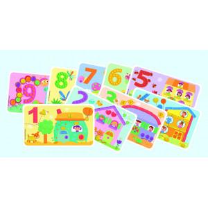 Playmais: Fun to learn Κάρτες με αριθμούς 14τεμ. PLM-160171