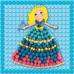 Playmais: Εικόνες 6τεμ. Μικρές πριγκίπισσες PLM-160178