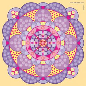 Playmais: Εικόνες 6τεμ. Mandala PLM-160358