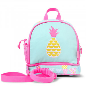 Penny Scallan: Τσάντα πλάτης Junior με λουρί ασφαλείας Pineapple Bunting PMRPB