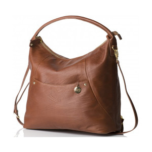 Pacapod: Τσάντα αλλαξιέρα Δερμάτινη - Jasper Chestnut PP:0900