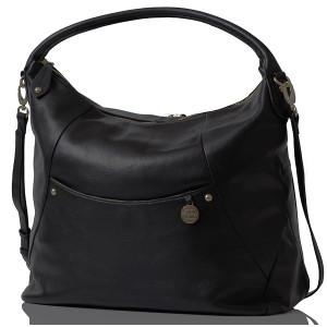Pacapod: Τσάντα αλλαξιέρα Δερμάτινη - Jasper Black PP:0901