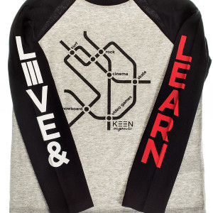 """Keen Organic: Boys """"Live and Learn"""" PRB-1851"""