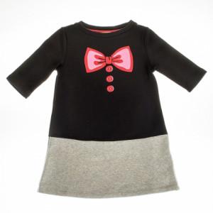 """Keen Organic: Girls """"Bow"""" fleece dress PRG-1810"""