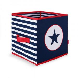 Penny Scallan: Πτυσσόμενο κουτί αποθήκευσης Navy Star PSBNAS