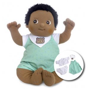 "Rubens Barn κούκλα Baby ""Nils"" με δώρο 4τμχ. ρούχα RB120095"