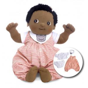 "Rubens Barn κούκλα Baby ""Nora"" με δώρο 4τμχ. ρούχα RB120096"
