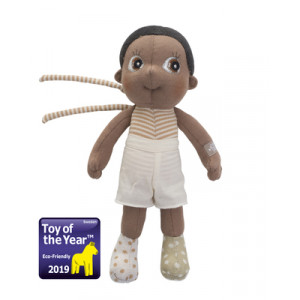 "Rubens Barn κούκλα Mini EcoBuds ""Basil"" RB160022"