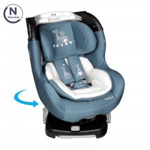 Περιστρεφόμενο κάθισμα αυτοκινήτου- Renolux 360° με τη Σόφι τη καμηλοπάρδαλη Koriolis Paris RNL500665