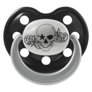 Rock Star Baby-Πιπίλα-Tattoo Pirate RSB90039