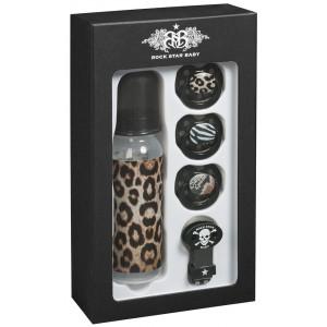 Rock Star Baby-Σέτ Δώρου-Leopard RSB90108